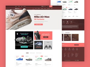 Sport Ecommerce Landing Page