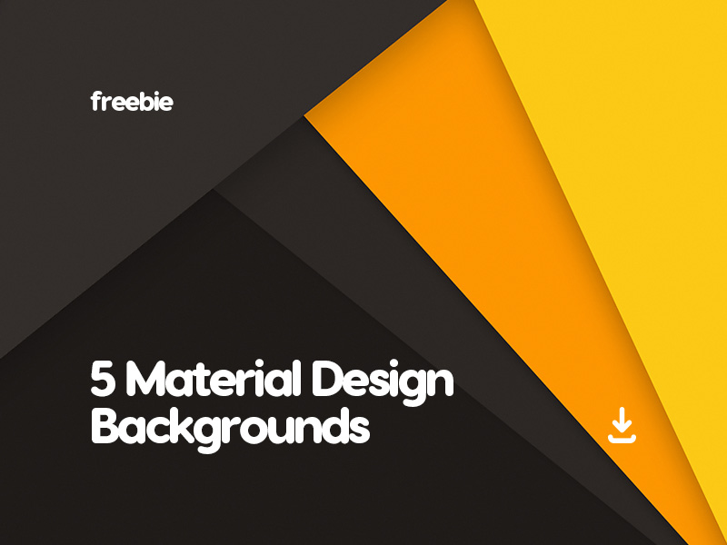 5 Free Abstract Material Design Backgrounds