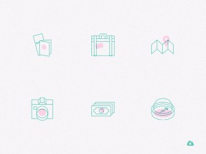 Free Creative Travel Icon Set