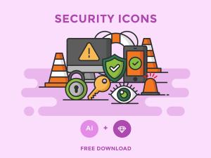 Free Security Icon Set
