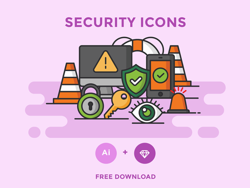 Free Security Icon Set