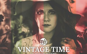 Free Vintage Style Photoshop Action