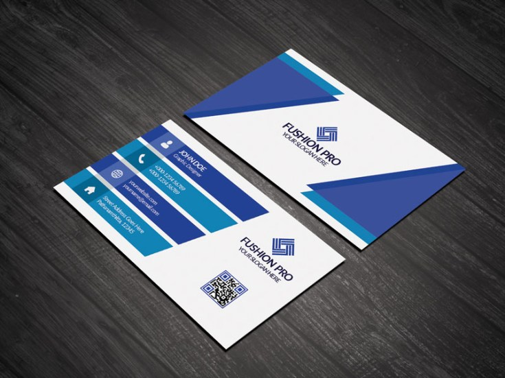 Fushion Business Card Template