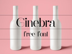 Ginebra - Free Serif Typeface
