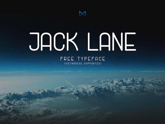 Jack Lane – Free Display Font