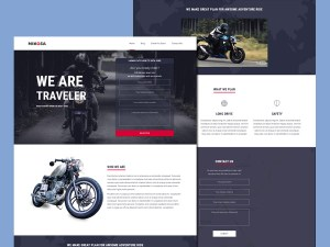Nikosa Rider Wordpress Theme