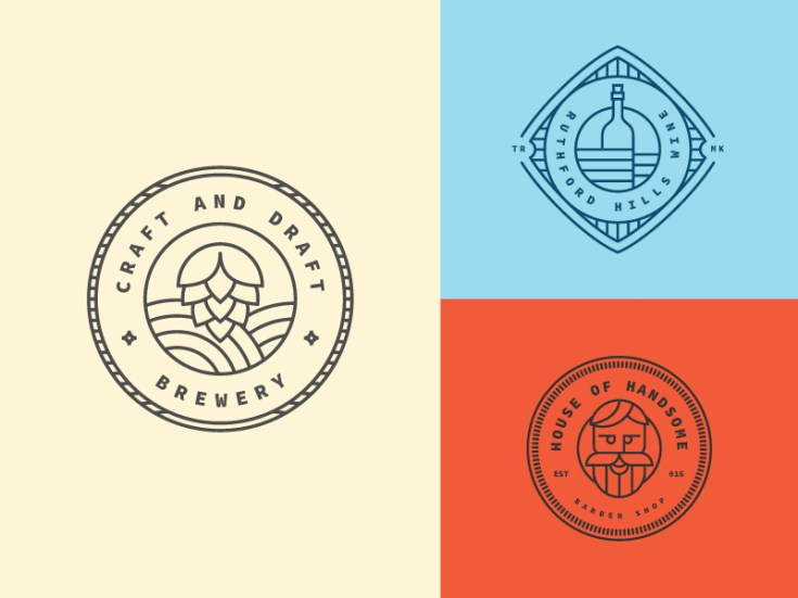 Free Retro Logo Template