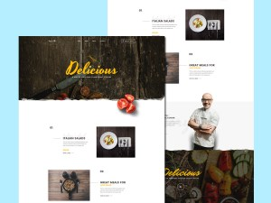 Spicy : Free Restaurant PSD Template