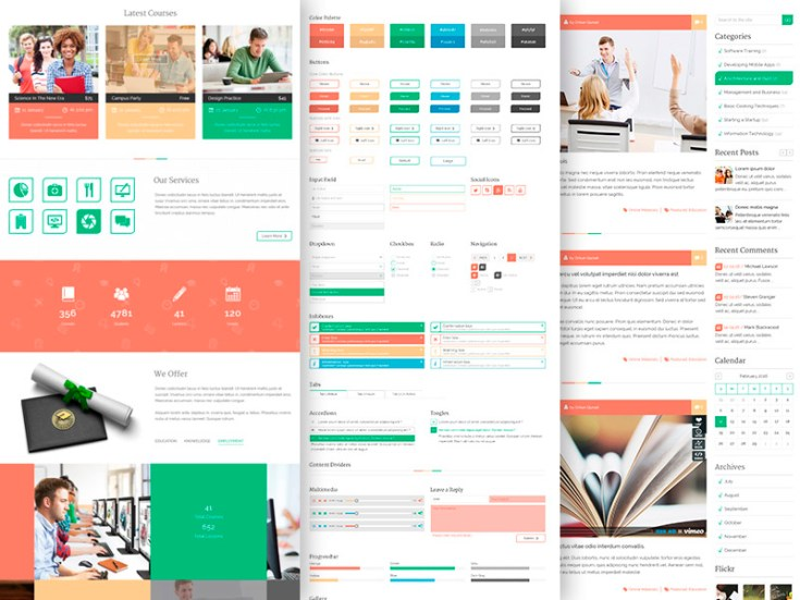 Unilearn : Free Education Website Template