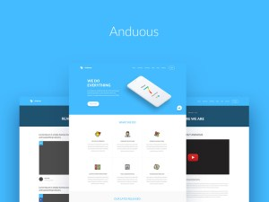 Anduous – Free Agency Web Templates