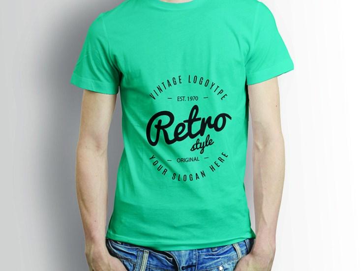 Free Boy T-shirt Mockup PSD