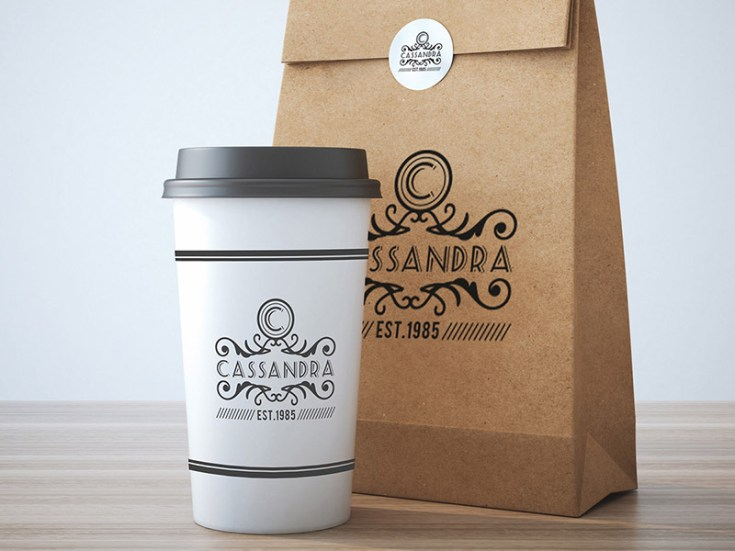 Free Coffee Packaging Mockup