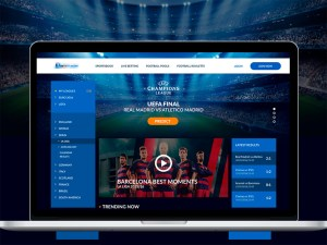 Free Football Website Template
