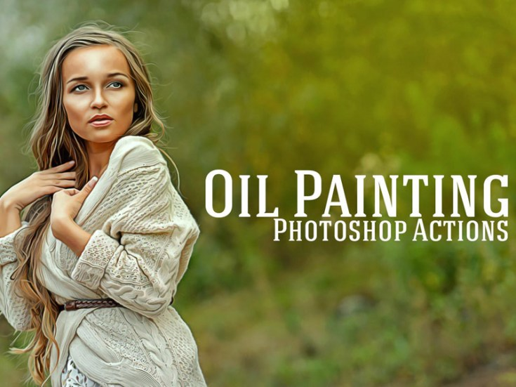 Free Oil Painting Effect Photoshop Actions