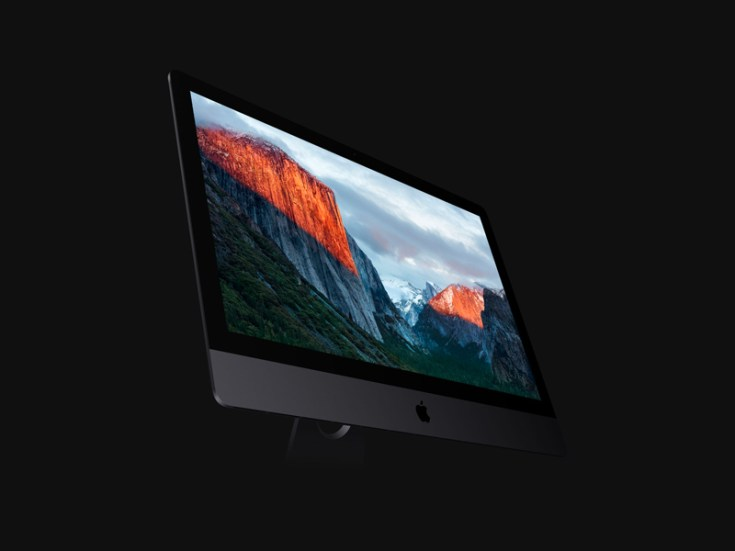 Free Perspective iMac Pro Mockup