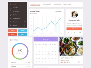 Free Recipe UI Kit
