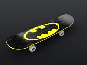 Free Skateboard Mockup PSD