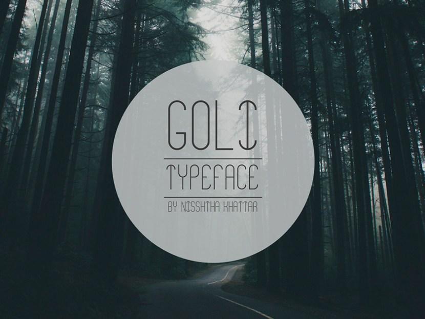 Goli – Free Display Typeface