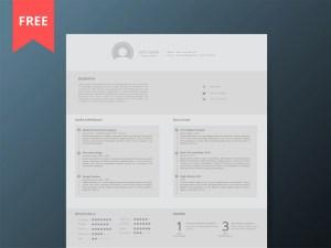Light Resume Template
