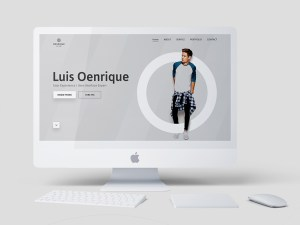 Luis Oenrique - Free Personal Website Template