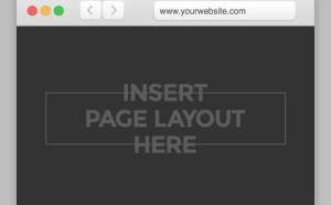 Free Safari Mockup PSD Template