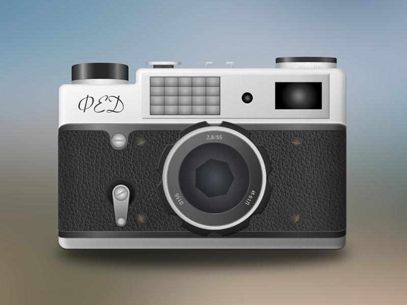 Vintage Camera Illustration