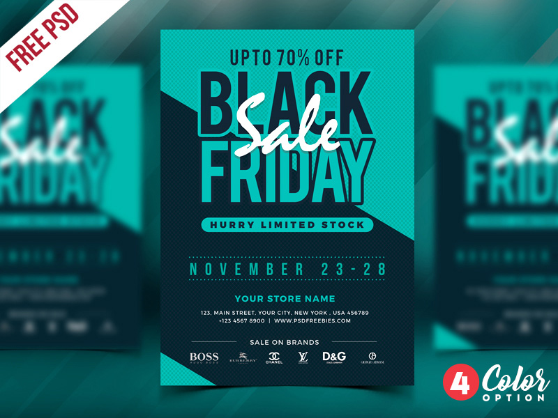Free Black Friday Flyer Template