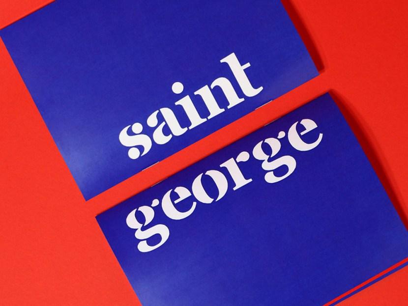 Saint George Free Experimental Font