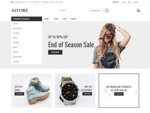 AStore - Free Stylish Woocommerce Theme