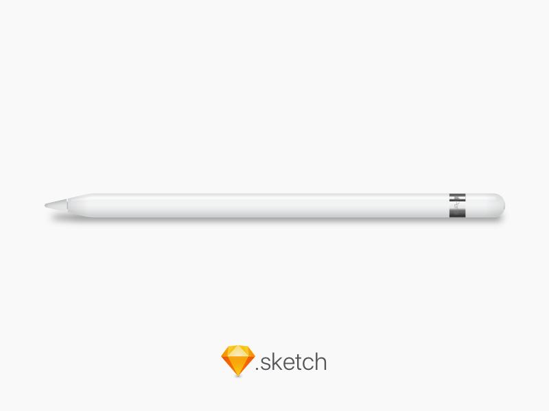 Free Apple Pencil Illustration for Sketch