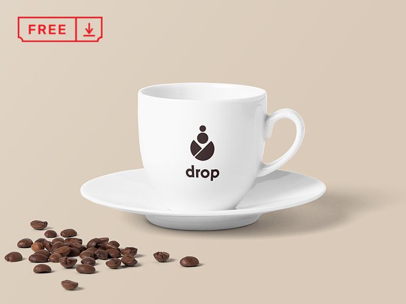 Free Classic Coffee Cup Mockup