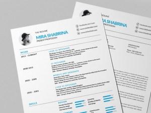Free Modern Simple Resume Template