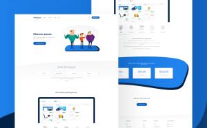 Free SaaS Landing Page Template