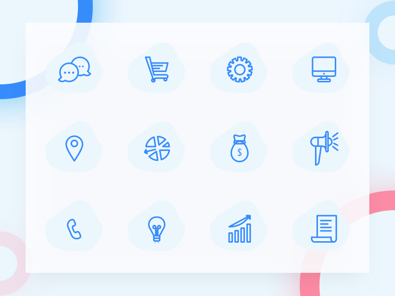 Minimal Sketch Line Icon