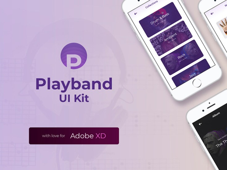 Payband Fee Music UI Kit