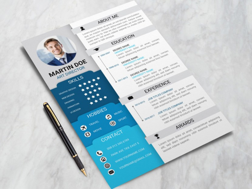 Free Professional Business Resume Template