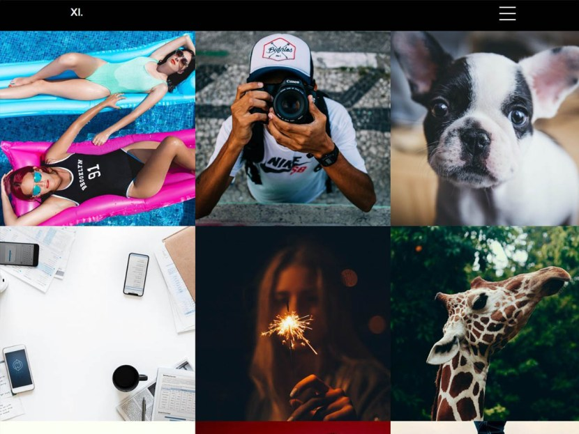 XI Portfolio WordPress Theme