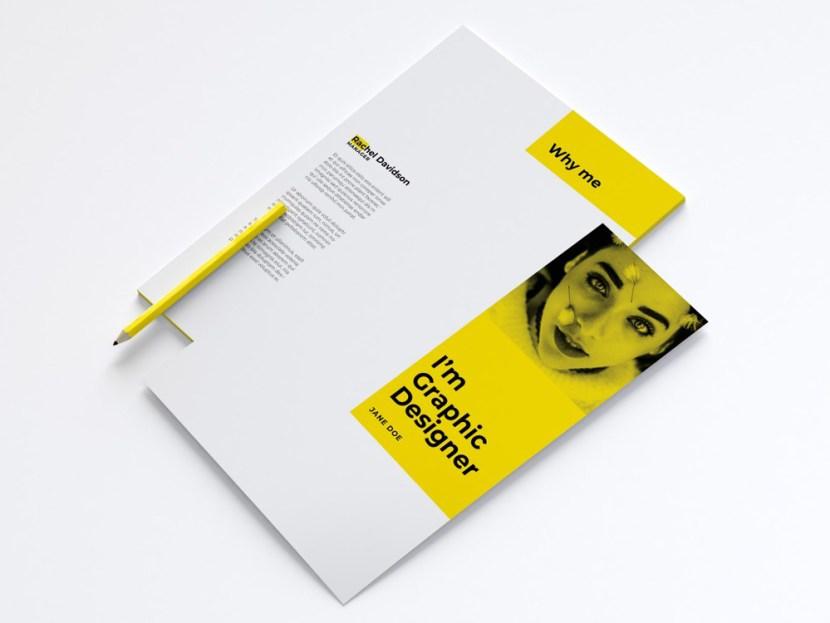 Free Professional Resume Template For Designer
