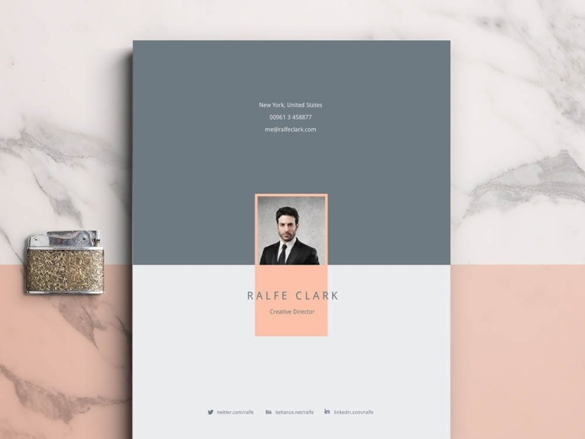 Free Clever Resume Template