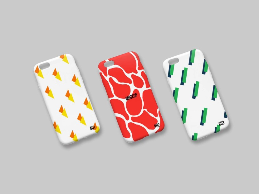 Free iPhone Case Mockup Set
