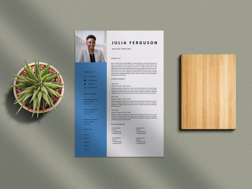 Free Gallery Director Resume Template
