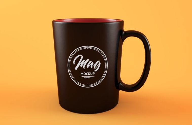 Clean Coffee Mug Mockup