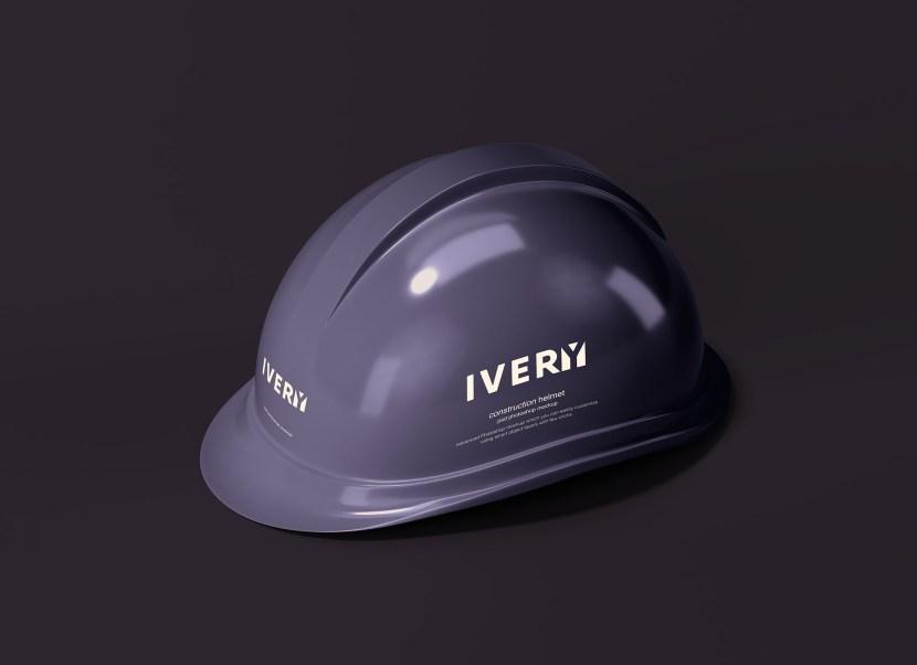 Free Construction Helmet Mockup PSD