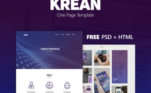 Free Digital Marketing Website Template