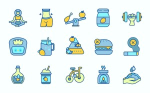 Free Healthy Life Vector Icons