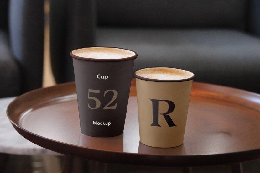Free Realistic Coffee Cup Mockup