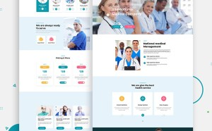 Free Health Care Website Template