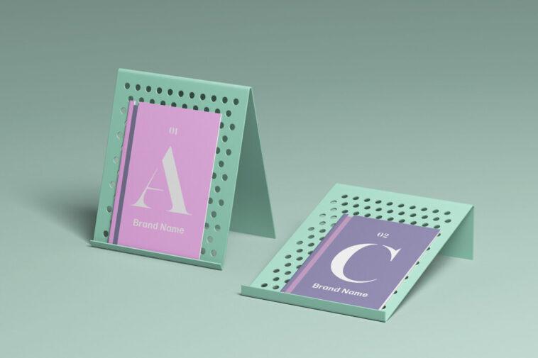 Free Brochure Display Mockup