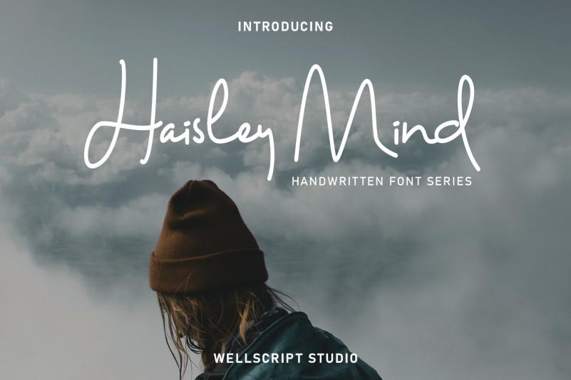 Haisley Mind – Free Monoline Signature Font