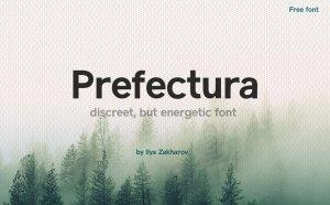 Prefectura – Free Sans Serif Font